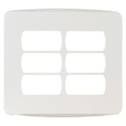 Placa 4X4 Com Suporte 6 Postos Miluz Schneider - Bignotto Ferramentas
