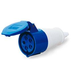 Acoplamento Lukma 3P+T+N 16A 220-240V 9H Azul - Bignotto Ferramentas