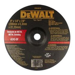 Disco De Desbaste 9 x 1/4 x 7/8 Pol. - DEWALT - DW... - Bignotto Ferramentas