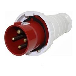 Plug Lukma 3P+T 63A 380-415V 6H Vermelho - Bignotto Ferramentas