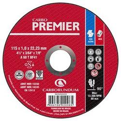 Disco de Corte Carbo Force Premier 115 x 1,0 x 22,... - Bignotto Ferramentas