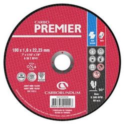 Disco de Corte Carbo Force Premier 180 x 1,6 x 22,... - Bignotto Ferramentas