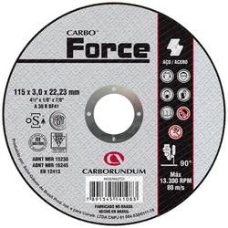 Disco de Corte Carbo Force 115 x 3,0 x 22,23 MM - Bignotto Ferramentas