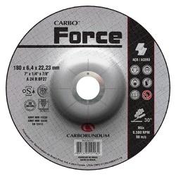 Disco de Desbaste Carbo Force 180 x 6,4 x 22,23 MM - Bignotto Ferramentas