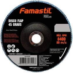 Disco Flap Famastil 45º 180 x 22MM Metal - Bignotto Ferramentas