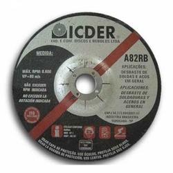 Disco De Desbaste 4 1/2 x 1/4 x 7/8 Pol. - ICDER - Bignotto Ferramentas