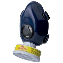 Máscara Respirador Semifacial 1 Filtro Worker - Bignotto Ferramentas