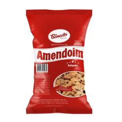 Amendoim Torrado e Salgado - 250g - DOCES BINUTO