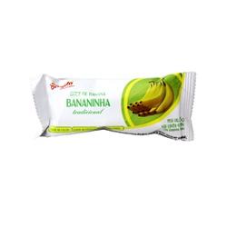 Doce Bananinha pedaço - 25g - DOCES BINUTO