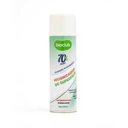 Higienizador de Superfícies - Aerossol Álcool 70%... - BIOCLUB