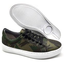 Sapato Feminino Casual Monet Bmbrasil 351/18 Camuf... - BMBRASIL CALÇADOS
