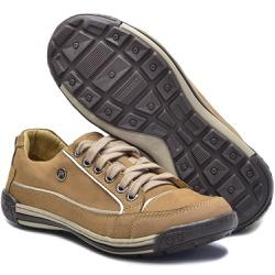 Sapato Masculino Casual Porshe Amura 114/01 Palha ... - BMBRASIL CALÇADOS