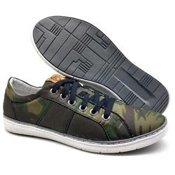 Sapato Masculino Casual Bmbrasil 850/19 Camuflado ... - BMBRASIL CALÇADOS