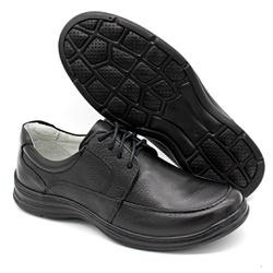 Sapato Confort Plus Bmbrasil De Couro Palmilha Em ... - BMBRASIL CALÇADOS