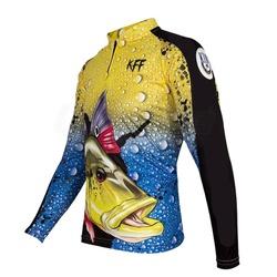 Camiseta De Pesca Proteção Solar Uv King Kff60 - k... - BMBRASIL CALÇADOS