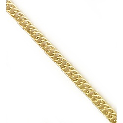 Corrente De Elo Metal - 4.5mm, Banho Ouro. - 01720 - BMSTRASS