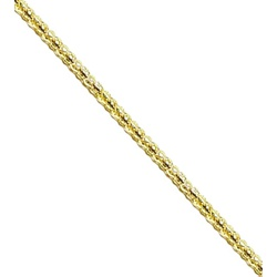 Corrente De Snake Metal - 25mm, Banho Ouro. - 0172... - BMSTRASS