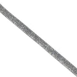 Tira Infinity Large Grafite - 40x1,5cm - 017186 - BMSTRASS