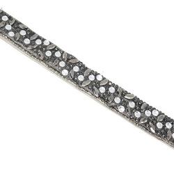 Tira Infinity Large Veneza Black Diamond - 40x1,5c... - BMSTRASS