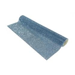 Mini Manta 23x40cm De Strass Azul Marinho - 2mm. -... - BMSTRASS