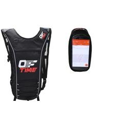 Kit Mochila de Hidratação Térmica 2 Litros Advanced +Bolsa Celular Smartphone Iphone Grande Offtime