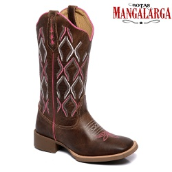 Bota Texana Feminina Mangalarga Katy - 1000 Katy - BOTAS MANGALARGA