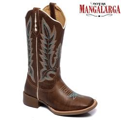 Bota Texana Feminina Mangalarga Irving - 1000 Irvi... - BOTAS MANGALARGA
