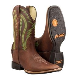 Bota Texana Premium Masculina Mangalarga Buf Sella