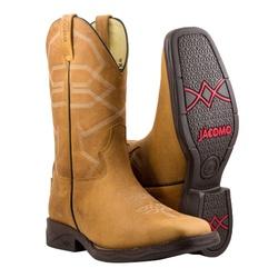 Bota Texana Premium Masculina Mangalarga Crazy Whisky