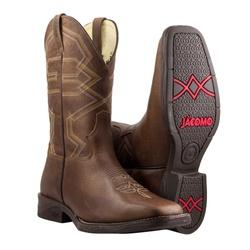 Bota Texana Premium Masculina Mangalarga Fóssil Buf Saar