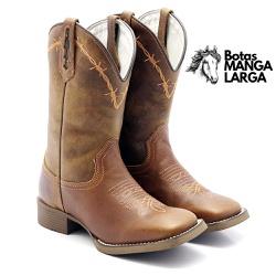 Bota Texana Feminina Arame Farpado - 709 Arame Far... - BOTAS MANGALARGA