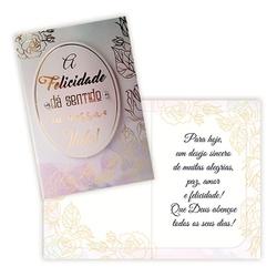Cartão Felicidade - FLORABARIGUI