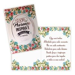 Cartão Sua Presença - FLORABARIGUI
