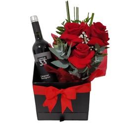 Rosas Versos e Vinho - FLORABARIGUI