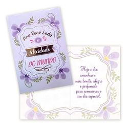 Cartão pra você - FLORABARIGUI