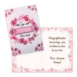 Cartão com carinho - FLORABARIGUI