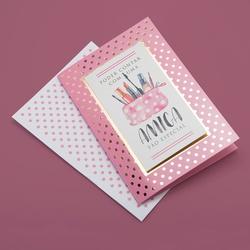 Cartão Amiga especial - FLORABARIGUI