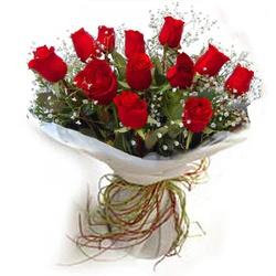 Buquê de 12 Rosas - FLORABARIGUI
