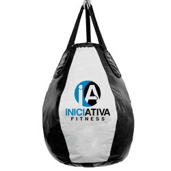 SACO DE PANCADA PERA GOTA VAZIO BRANCO | INICIATIVA FITNESS - Iniciativa Fitness