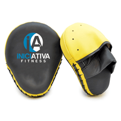 MANOPLA DE SOCO FECHADO AMARELO | INICIATIVA FITNESS - Iniciativa Fitness