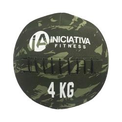 WALL BALL 8LB / 4KG - CAMUFLADO | INICIATIVA FITNESS - Iniciativa Fitness
