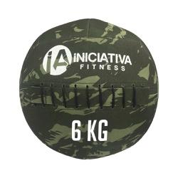 WALL BALL 14LB / 6KG - CAMUFLADO | INICIATIVA FITNESS - Iniciativa Fitness