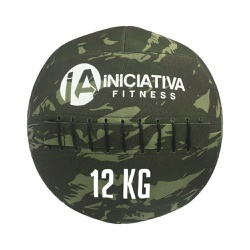 WALL BALL 26LB / 12KG - CAMUFLADO | INICIATIVA FITNESS - Iniciativa Fitness