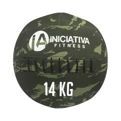 WALL BALL 30LB / 14KG - CAMUFLADO | INICIATIVA FITNESS - Iniciativa Fitness