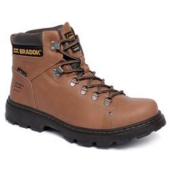 Bota Work Boot 2 Conhaque - BRADOK®