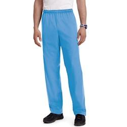 Calça Pijama Cirúrgico Azul Celeste em Algodão - C... - BRANCURA