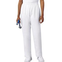 Calça Feminina Branca em Gabardine - Pijama Cirúrg... - BRANCURA