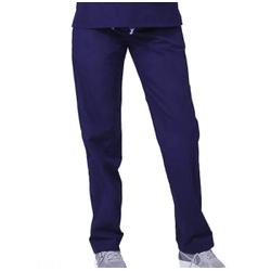Calça Feminina em Gabardine Azul Marinho - SC5643 - BRANCURA
