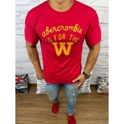 Camiseta Abercrombrie Vermelho - CABR138 - RP IMPORTS