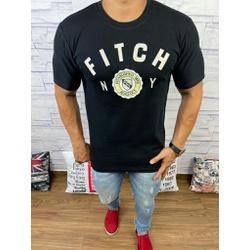 Camiseta Abercrombie Preto - CABR131 - RP IMPORTS